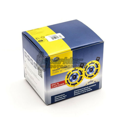 Hella Sharp Tone Dual//Twin Horn Kit M26S 12V 115 dB Universal Cars//Trucks//SUVs
