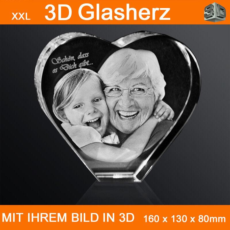 XXL Glasherz 3D Laser Foto Gravur Weiblich Beauty Frauen Frauen Frauen Individuell Handtasche | Zu verkaufen  | Erste Qualität  | Deutschland Berlin  ee88d6