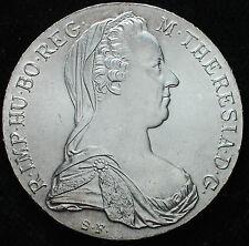 1780 AUSTRIA MARIA THERESIA SILVER THALER