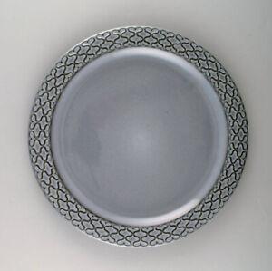 Bing-amp-Grondahl-number-624-Set-of-10-dinner-plates-Grey-Cordial-Quistgaard