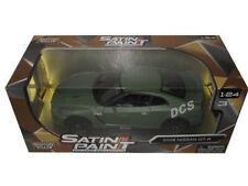 MOTORMAX  2008 NISSAN SKYLINE GT-R 1/24 DIECAST MODEL CAR MATTE GREEN 79506