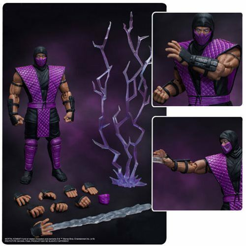 Storm Collectibles Mortal Kombat  Rain  NYCC 2018 Exclusive 1 12 Figure NEW