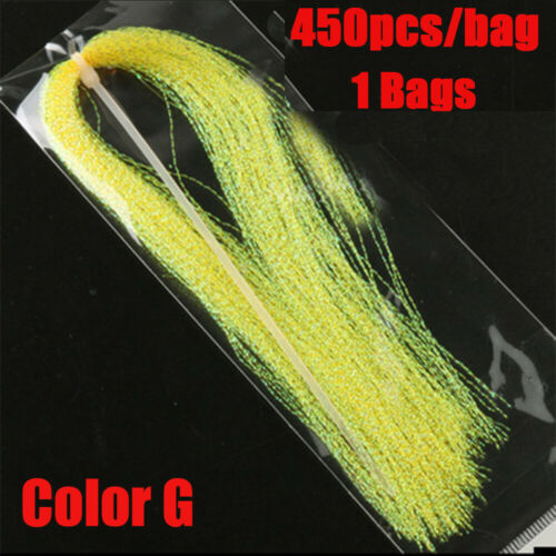 Squirmy Flash Lure Making Material Fly Tying Materials Holographic Tinsel
