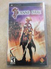 Jeanne d'Arc (Sony PSP, 2007) PSP NEW