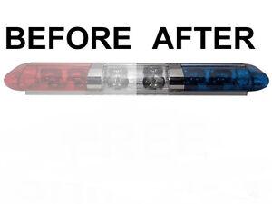 Details About Fire Truck Police Car Light Bar Strobe Cleaner Restoration Pad Wipes Away Haze