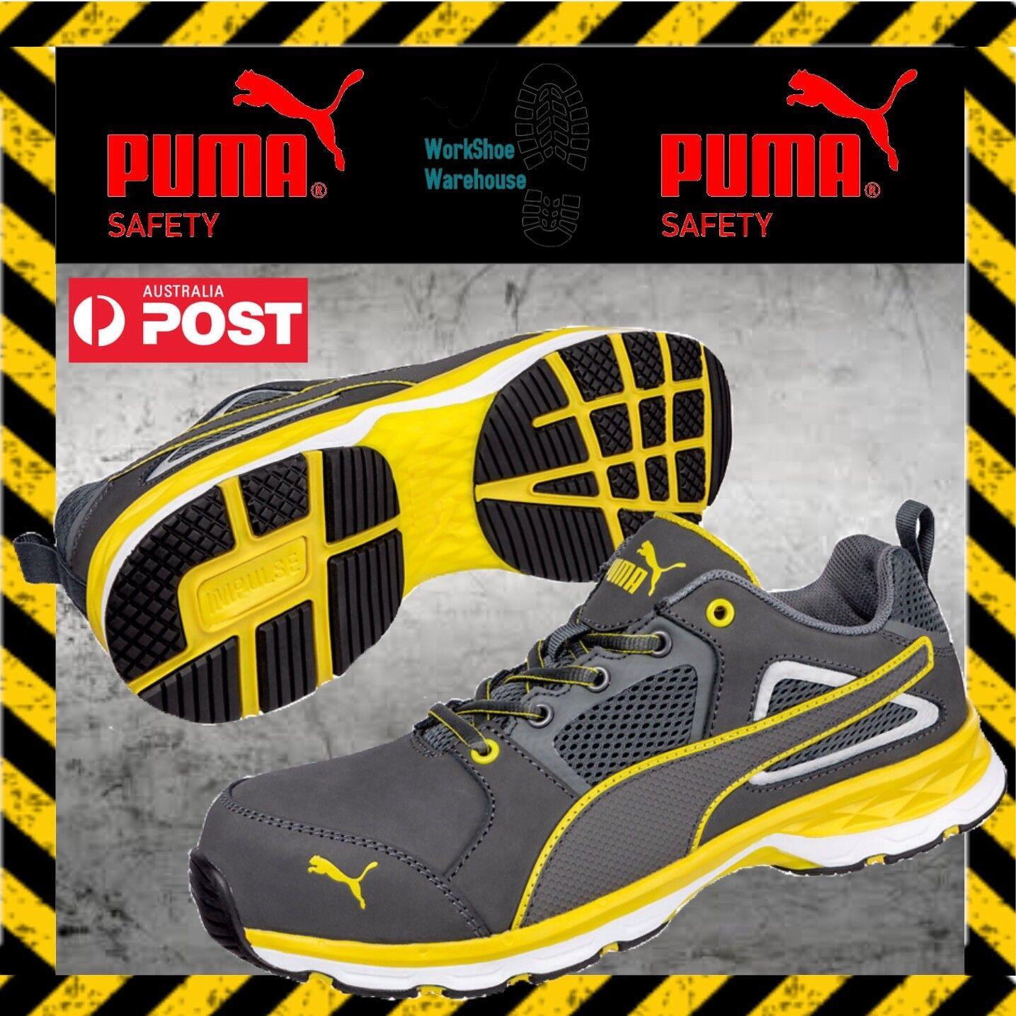 Puma Pace 2.0 643807 Composite Toe Cap Light Safety Work Jogger shoes