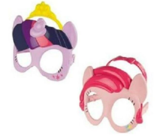 MCDONALDS HAPPY MEAL TOYS MY LITTLE PONY MOVIE MASK 2016  - LOT OF 2 -