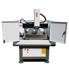 Half Cover Cast Iron Small Cnc Engraving Machine Metal Carving And Milling