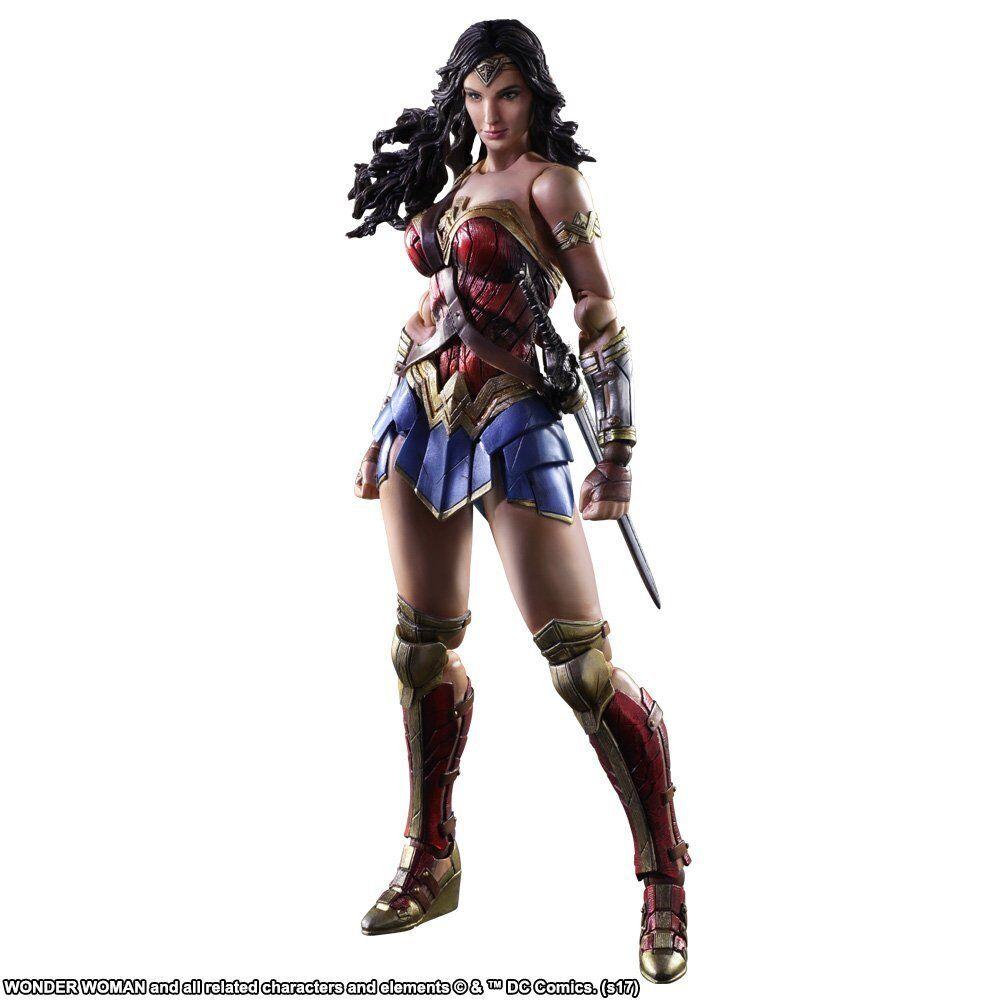 SQUARE ENIX WONDER WOMAN Movie PLAY ARTS Kai Wonder Woman Action Figure