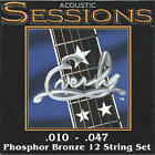 Everly Sessions Acoustic Guitar Strings, 12 String Set .010-.047, 7210-12