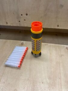 Nerf-Spectre-Orange-Yellow-Grey-Barrel-Attachment-Only-With-Free-Ammo-N-Strike