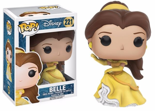 FUNKO MIB # 247 Beauty and the Beast Live Action BELLE CELEBRATION Vinyl Figure