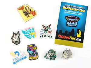 9-Kentucky-Derby-Festival-Pins-1983-2011-8-Pegasus-Pins-amp-1-Churchill-Downs