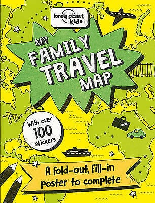 1 of 1 - My Family Travel Map (Lonely Planet Kids), Excellent Condition Book, Lonely Plan