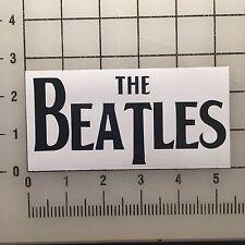 "The Beatles 5"" Black Vinyl Decal Sticker - BOGO"