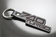 Volvo 740 TURBO Leather Keyring Keychain Schlüsselring Porte-clés Estate GLT