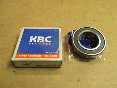 NIB KBC 6006DDC3 BEARING RUBBER SEALED 6006 DD C3 6006-2RS 30x55x13 mm