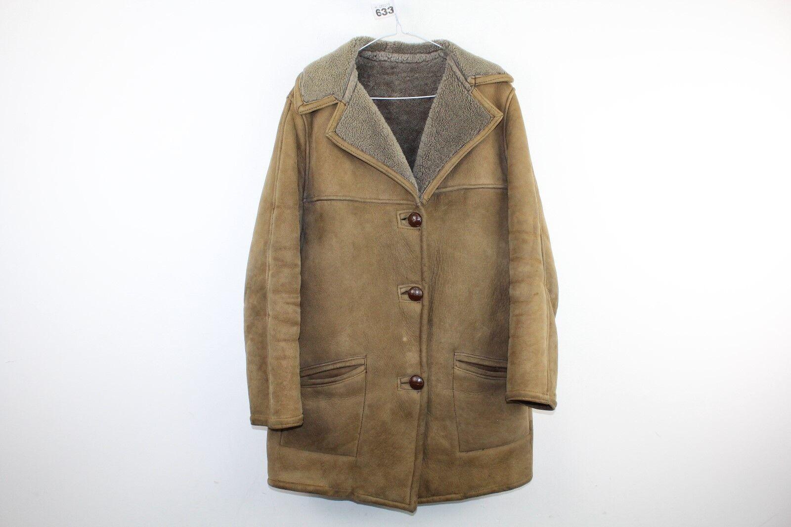 Womens Real Sheepskin Jacket size See Description No.W633 22/2
