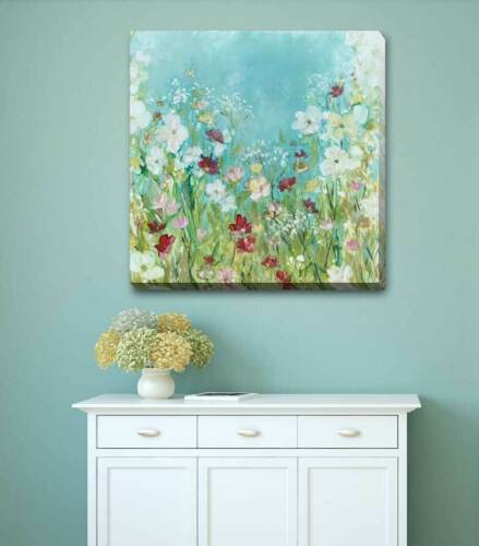Wild Flower Floral Bloom Stretched Canvas Print Framed Wall Decor Painting F123