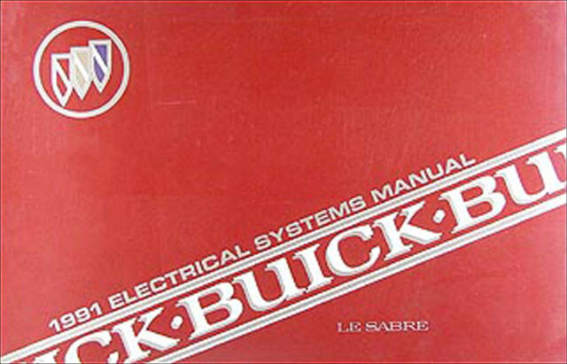 1991 Buick Lesabre Electrical Troubleshooting Manual 91