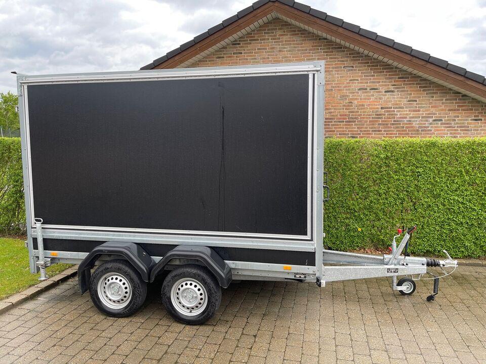 Salgsvogn, Brenderup 7300 TB, lastevne (kg): 1375