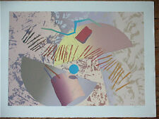 "André Boll, Serigraphie, sign., numm. 66/75, Titel: ""Equatenz"", (Le Corbusier)"