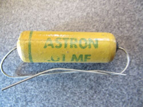 ASTRON   0.01 uf 1600VDC  TONE CAPACITOR  TUBE POWER AMPLIFIER