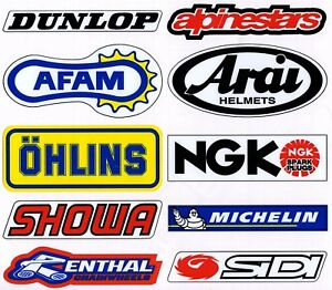 Motorcycle-Colour-Laminated-Swingarm-Frame-Stickers-MX-Sport-1-x-sheet-Set-One