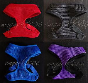 BN-Dog-Puppy-Harness-sizes-S-M-Small-Medium-Mesh-padded-extra-XS-New-Range