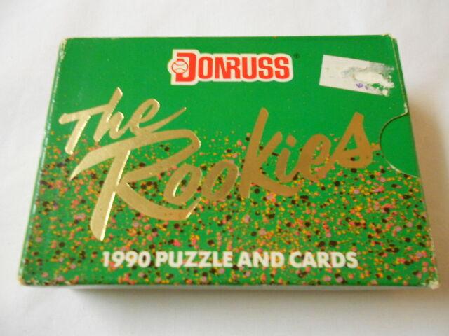 Donruss Baseball MLB Cards 1990 The Rookies Puzzle Carl Yastrzemski Set Unopened