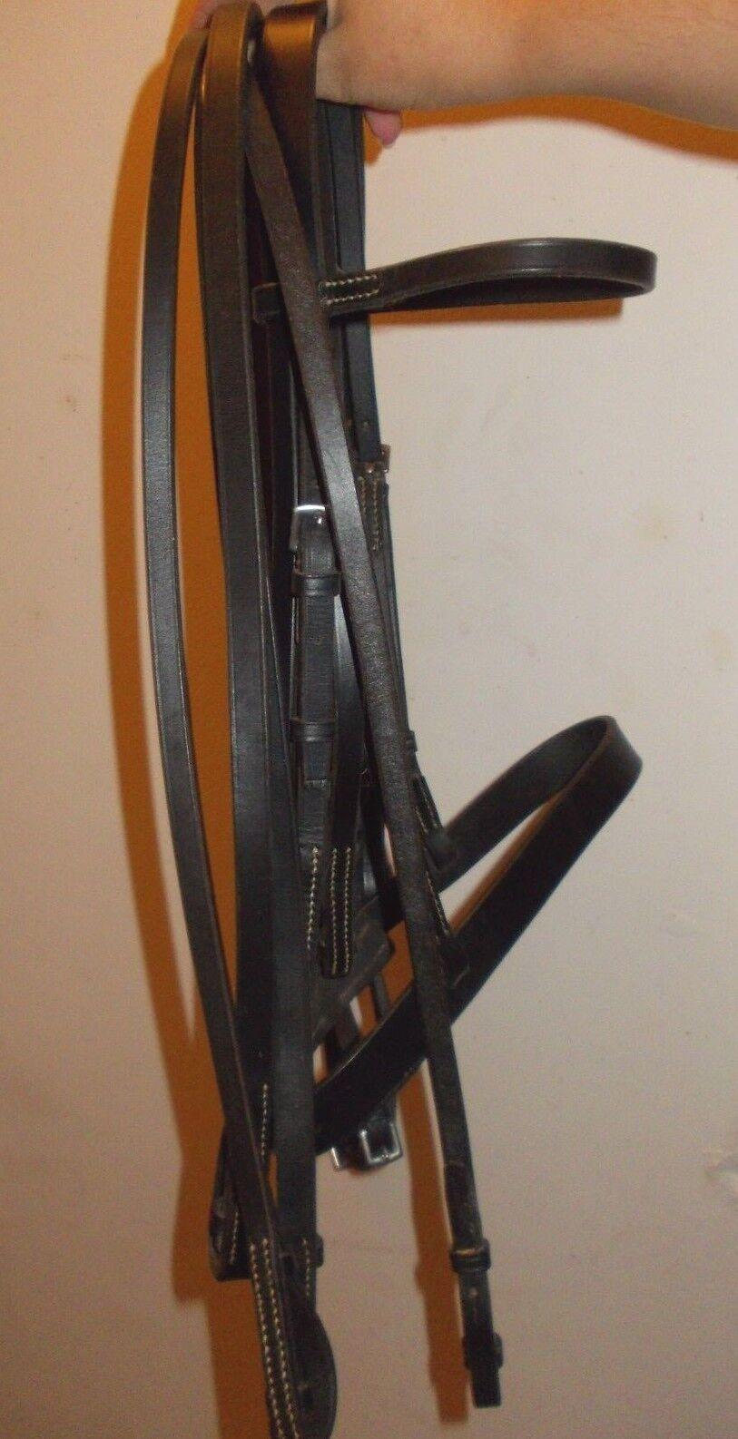 Jeffries double  bridle & reins  authentic quality