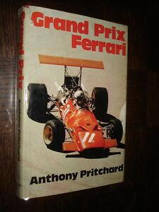 GRAND-PRIX-FERRARI-Anthony-Pritchard-1974-English-book