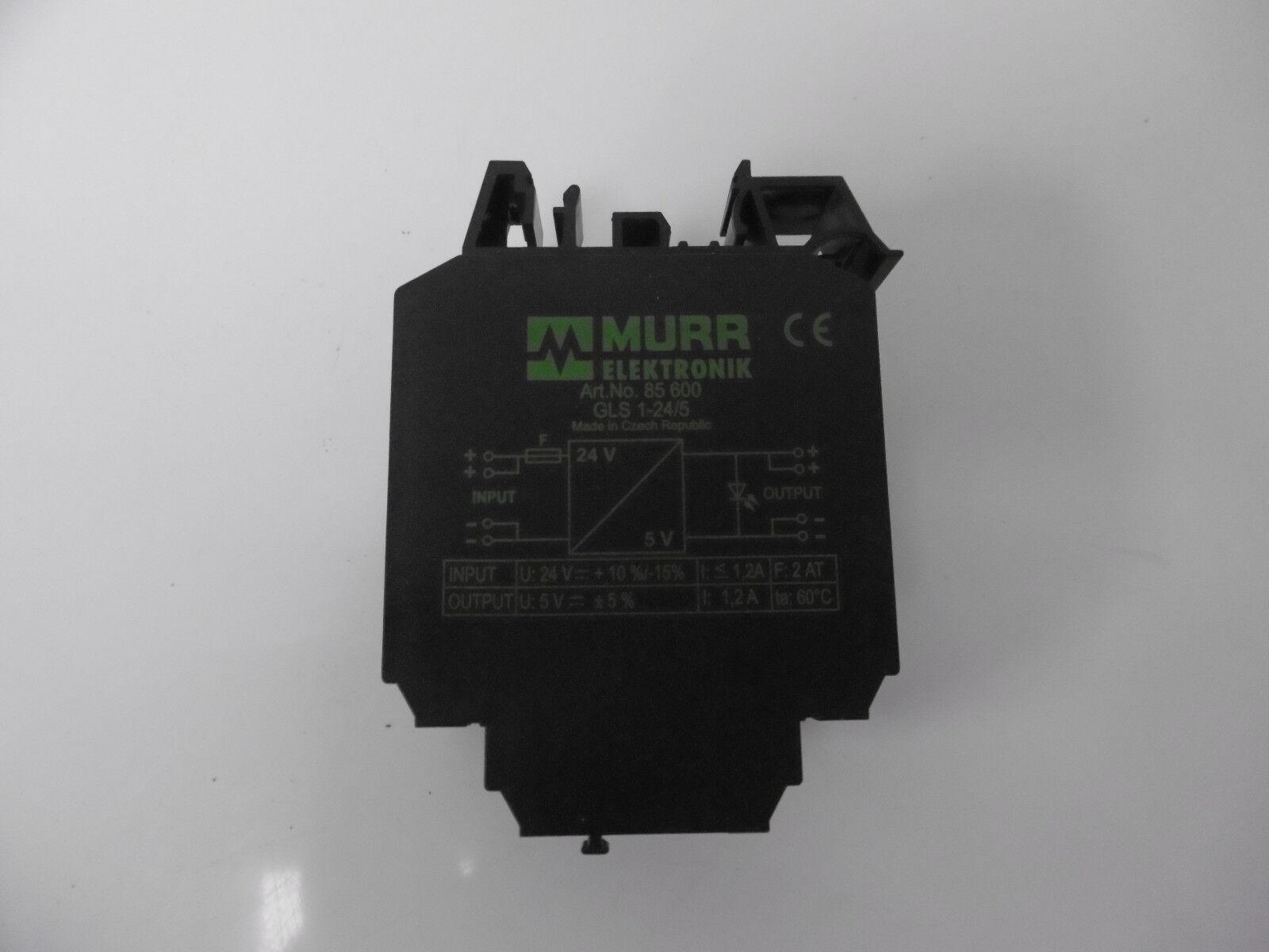 Murrelektronik 85600 GLS 1-24/5 1-24/5 1-24/5 DC/DC-Wandler 1b35f9