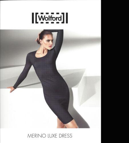 Dress une Wolford base Xs de Black robe noble 00 Luxe € Op Merino Comme 475 vqqrwBxEp