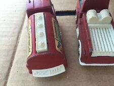 Vintage Toy Plastic Fire Trucks Lot Of 2