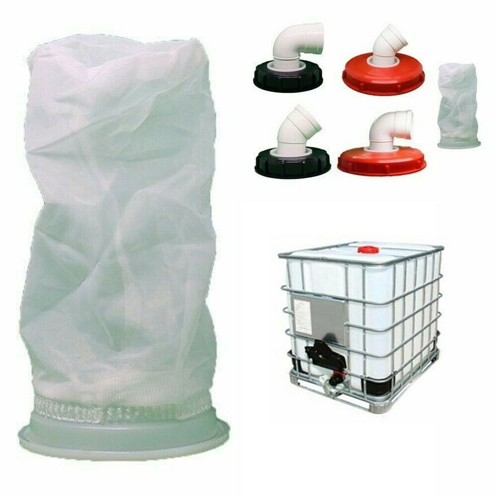 IBC Lid Filter Nylon Washable With Lid, IBC Cover Filter Rain Water Filter Cover