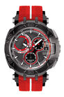 Tissot T-Race Jorge Lorenzo 2017 (T092.417.37.061.02) Men's Wristwatch with Red and White Strap