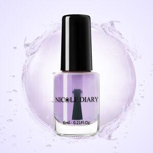 NICOLE-DIARY-6ml-Water-based-Top-Coat-Nail-Polish-Odorless-Varnish-Nail-Care