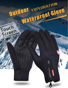 Details About Men Women Winter Full Finger Sports Riding Motorcycle Ski Snow Snowboard Gloves