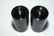 """Zeiss Jena 25mm 1,25"""" prototype symmetrical Plossl 2+2 eyepiece lens objektive"""