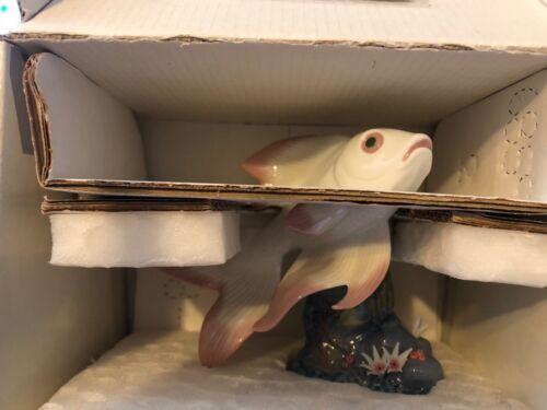 Lladro 6859 Pond Dreamer Retired Missing 2 White Petals Original Grey Box!