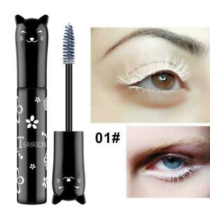 Waterproof-Multi-color-Dry-Fast-Mascara-Eye-Lashes-Pink-Brown-White-Black-P-N9Z5