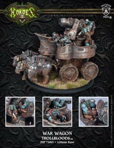 Trollkin War Wagon Battle Engine