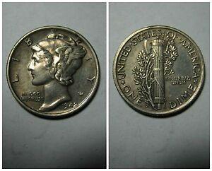 America - Stati Uniti  Mercury Dime 1942 Ag. Mint S  XF+/SPL+