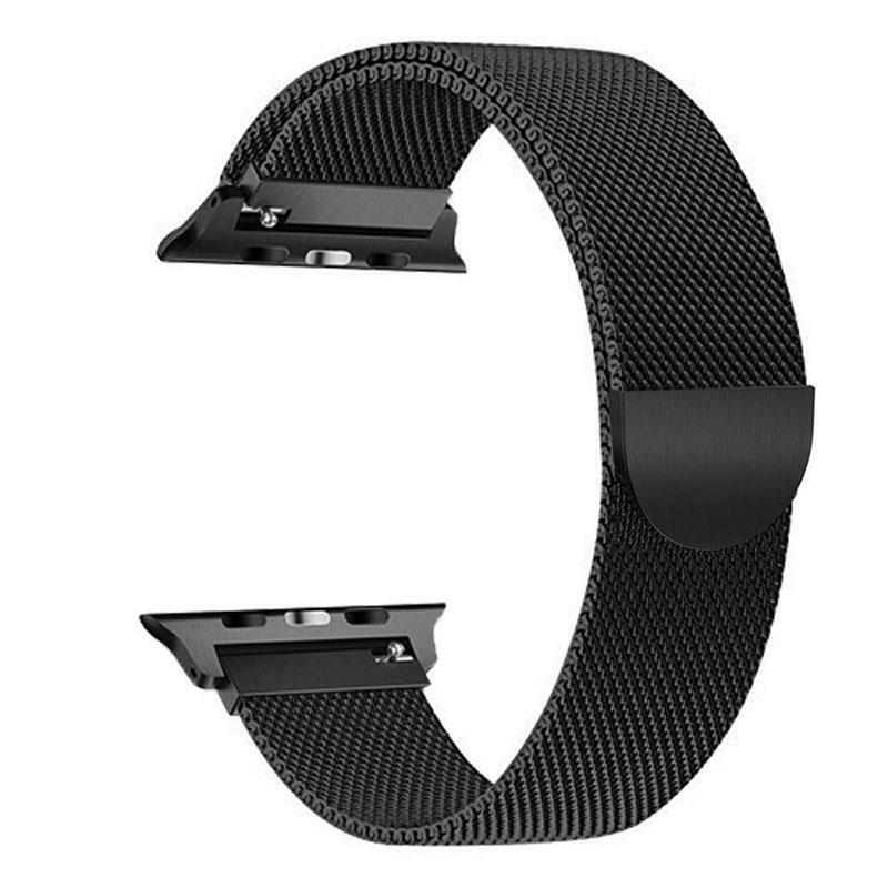 iwatch: Magnetic Milanese Loop Watch Strap Band For Apple Watch iWatch Serie 6 5 4 3 2 1