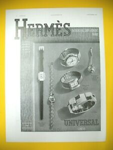 Advertising-Press-Hermes-Saddler-Watches-Universal-Watchmaking-Luxe-1939