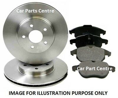 FOR SUZUKI ALTO 1.1 2002-2006 FRONT VENTED BRAKE DISCS PAD PADS SET 232mm KIT