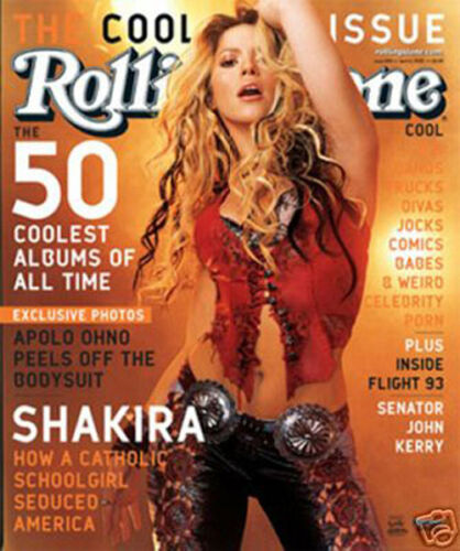 #1794 Shakira Rolling Stone cover Poster 24X28