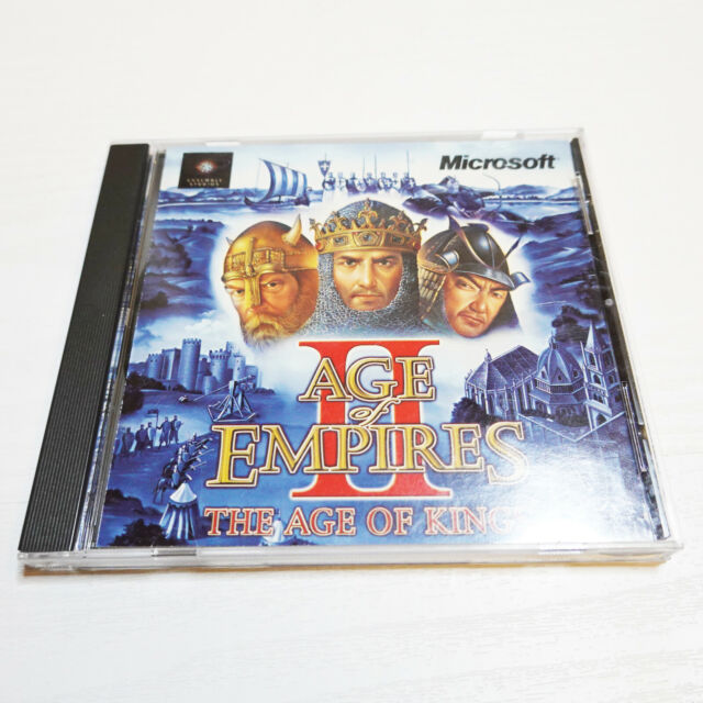 Age of Empires II 2 The Age of Kings PC CD WINDOWS