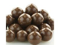 Milk Chocolate Jumbo Malt Balls 4lbs Traditional Bulk Candy Free Shipping